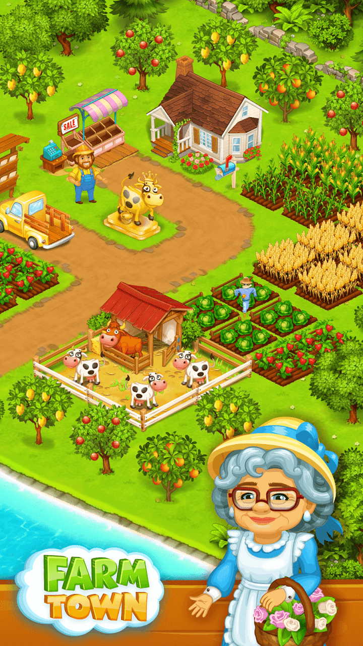 Farm Town: Happy farming Day For PC & Windows - Gratis download